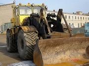 Погрузчик фронтальный ковшовый Кировец К-701