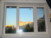 Окно трехстворчатое REHAU - 137 - серия под ключ - 14970 р.!