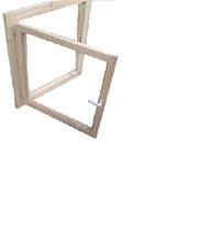 Окно одностворчатое с двойным остеклением р-р 1100х900 мм: