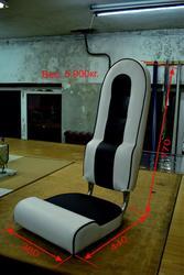 кресло складное высокое узкое  для катера