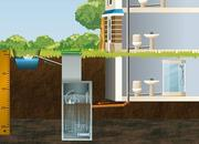 Автономная система Топас (туалет для дачи),  монтаж за 2 дня