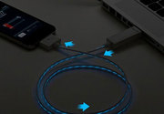 Светящийся кабель для зарядки и синхронизации IPhone