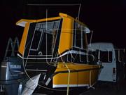 Ходовой тент в комплекте с дугами  на катер,  яхту.