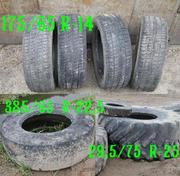Примем бывшие в употреблении автопокрышки в СПб