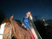 прогулки верхом на лошадях