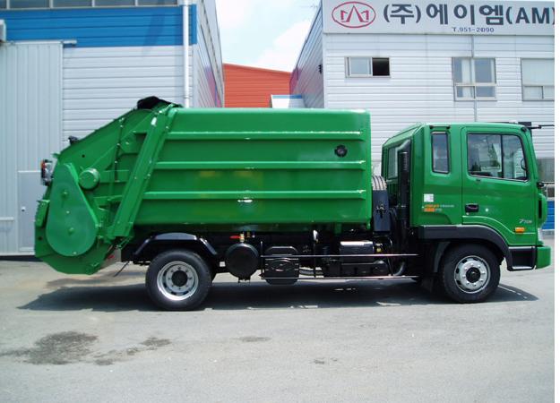 Hyundai HD120 мусоровоз задней загрузки 10куб.м.