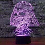 3д 3D светильник ночник лампа
