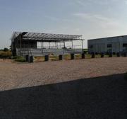 Аренда. Земельный участок с недостроем. Под склад/производство