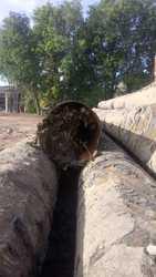 ЛОМ Труб диаметр 640мм,  толщина 10мм с засором 50% по вашей цене