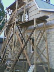 Отделка загородного дома.Реконструкция и восстановление дома.Спб